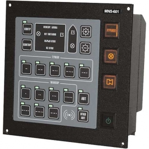 Warning and maneuvering signals control unit – «MNS-601»
